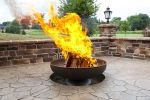 Patriot  Fire Pit 48 inch Stainless Steel Made in the USA Ohio Flame