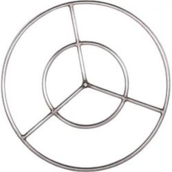 Dagan FR-36S Fire Ring, Stainless Steel