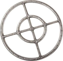 FR-34-24S Fire Ring, No.304 Stainless Steel DAGAN