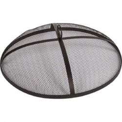 Dagan MC-19 Fire Pit Mesh Covers with Handle, Black