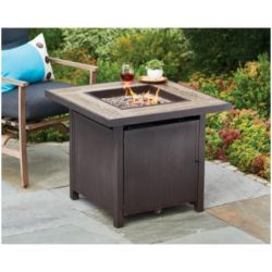 Patio Master 242658 38 in. Four Seasons Evanston Gas Fire Pit