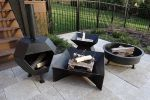 Cavo Custom Geo Pit Wood Burning Fire Pit By Cavo Design