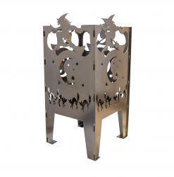 Curonian Witch Solid Steel Wood Burning Fire Pit