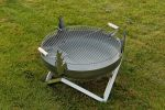Curonian Stainless Steel Round Grill Grate 25""