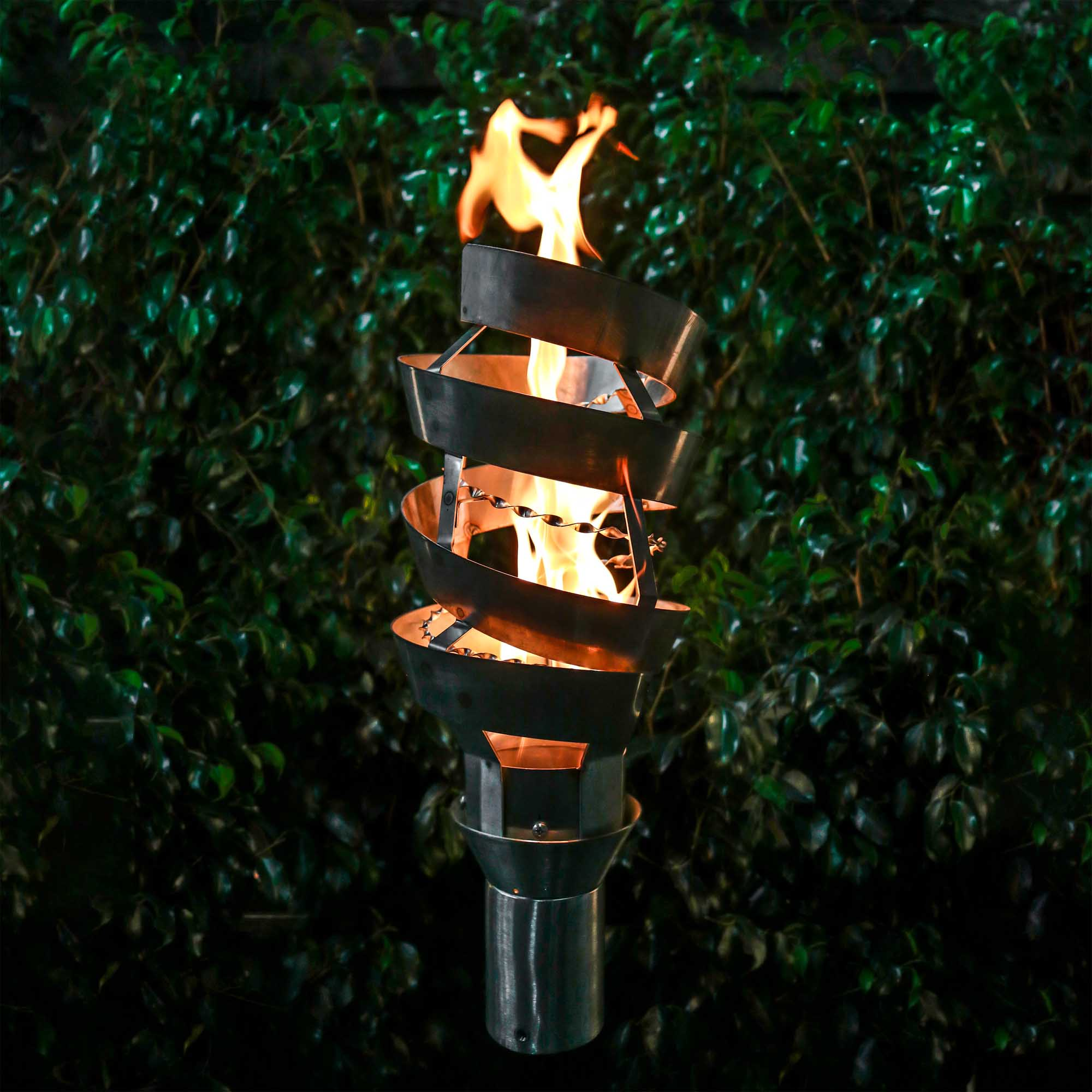 SPIRAL FIRE TORCH The Outdoor Plus