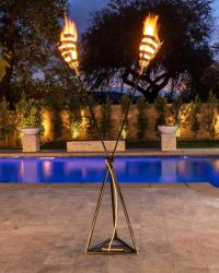 FIRE TORCH STAND The Outdoor Plus (Fuel: LP Gas Powered)