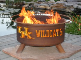 Collegiate Fire Pit to Show School Spirit From Patina Products (College: Kentucky)