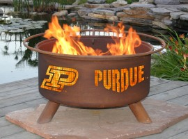 Collegiate Fire Pit to Show School Spirit From Patina Products (College: Purdue)