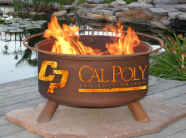 Collegiate Fire Pit to Show School Spirit From Patina Products (College: Cal Polly San Luis Obispo)