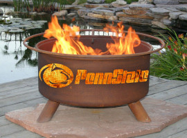 Collegiate Fire Pit to Show School Spirit From Patina Products (College: Penn State)