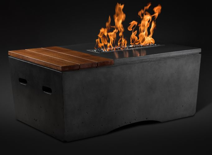 Oasis Fire Table Slick Rock (Ignition: Electronic Igntion)